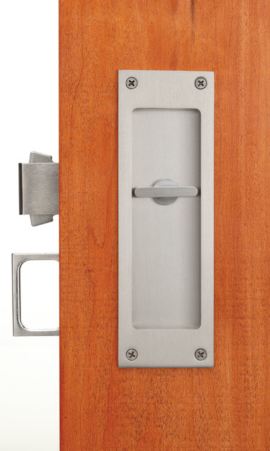 Pocket Door Locks And Flush Pulls Contemporary Pocket
