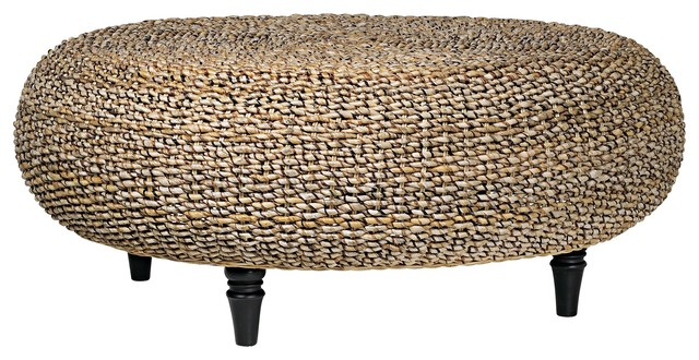 Riau Woven Fiber Round Coffee Table