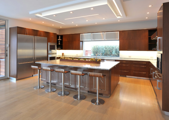 Kitchens Contemporary New York By East End Country