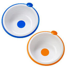 Dr. Brown's Designed to Nourish - Toddler Feeding Bowls - 2 pack - Blue/Orange - baby-and-toddler-toys