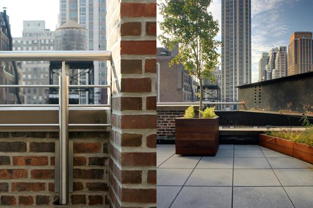 Midtown Minimal contemporary-exterior