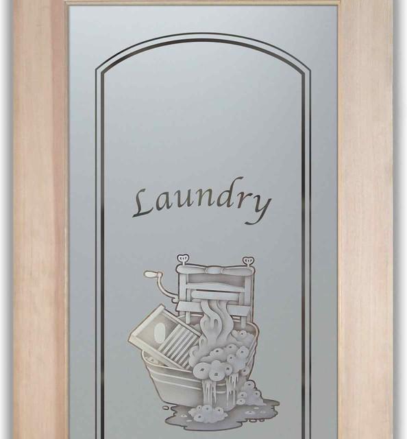 Laundry Room Door - Thru the Wringer 2D - Traditional - Interior Doors - other metro - by Sans ...