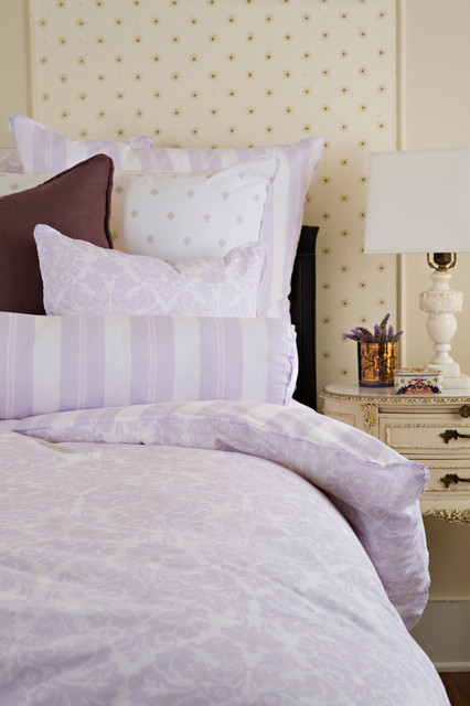 Brocade Orchid Bedding traditional-duvet-covers