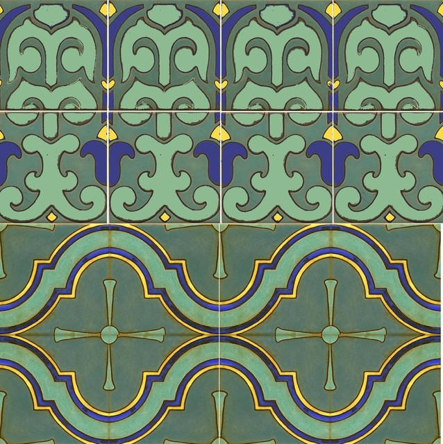 Ogee Medallion & Totem mediterranean-swimming-pools-and-spas