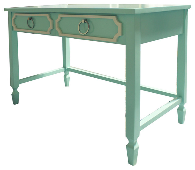 Beverly Writing Desk - Traditional - Desks And Hutches - by Newport Cottages