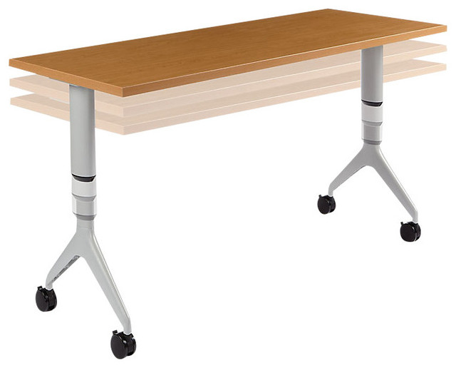 Motivate Adjustable Height Table Contemporary by  : contemporary desks from www.houzz.com size 640 x 516 jpeg 36kB