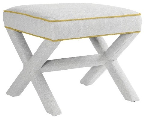 Contemporary Upholstered Benches by Serena & Lily
