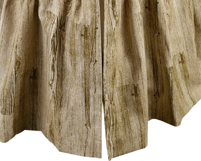 Mystic Valley Traders Montana - Twin Bed Skirt rustic-bedskirts