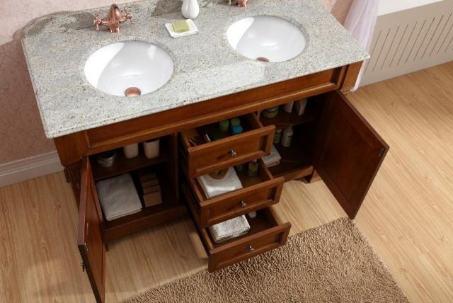 Freestanding double basin bathroom vanity taurus 1400 - Freestanding double bathroom vanity ...