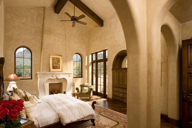 Silverleaf Custom Home mediterranean-bedroom