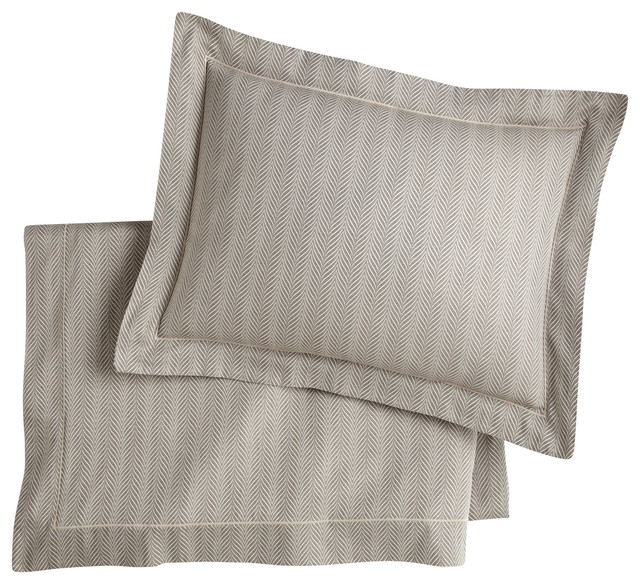 Corsica Duvet Cover, Linen, King traditional-duvet-covers-and-duvet-sets