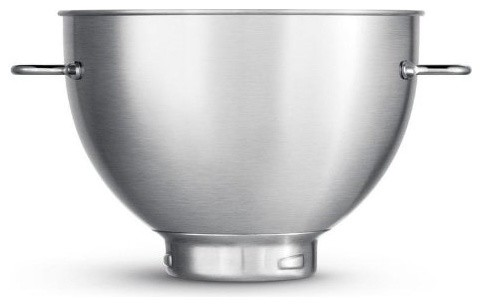 Breville Second Bowl 4-Quart Stainless Steel Bowl for use with BEM800XL Stand Mi contemporary-mixers