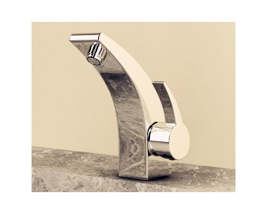 Deck Mounted Contemporary Bathroom Faucets - Smooth, long lasting, and drip-free operation ceramic disc cartridge