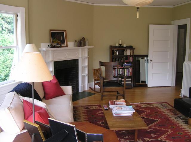 Boston, MA Home Restoration contemporary-living-room
