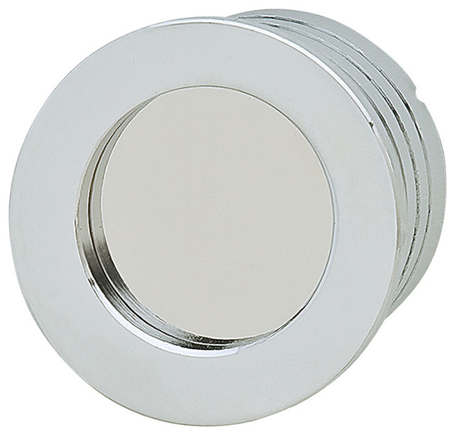 Hafele 151.98.200 Chrome Flush Pulls - Traditional - Cabinet And Drawer Handle Pulls - by Simply ...