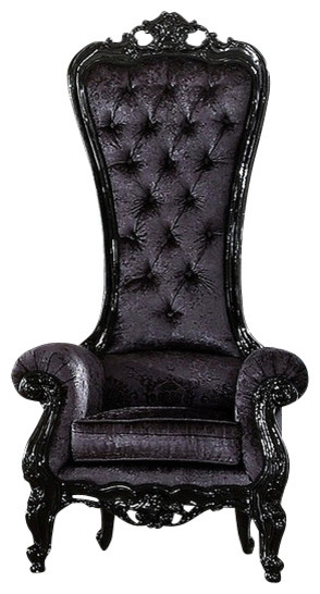 Queen Chair - Eclectic - Armchairs And Accent Chairs - by Diva Rocker ...