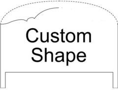 Century Signature (88-CUSTOMK) King Headboard Custom Shape