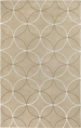 Cosmopolitan Tan Rug modern-rugs