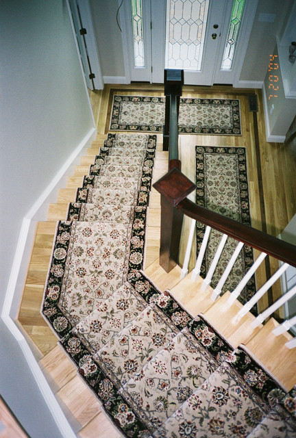 2015 Stairrunners With Matching Area Rugs And Hall Runners
