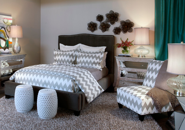 The Winston Collection contemporary-bedroom
