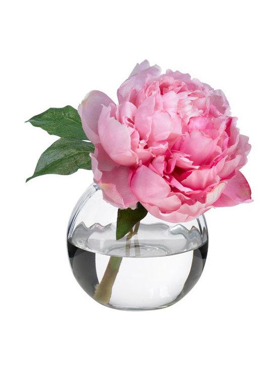 Pink Peony Blossom -