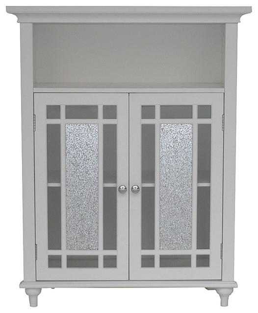 Jezzebel Double Door Floor Cabinet - Contemporary - Interior Doors ...