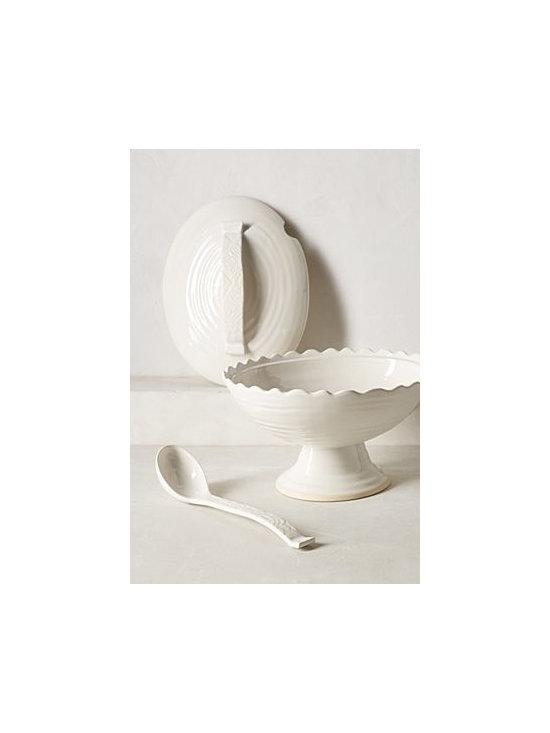 Anthropologie - Old Havana Tureen - Stoneware. Dishwasher safe. Portugal