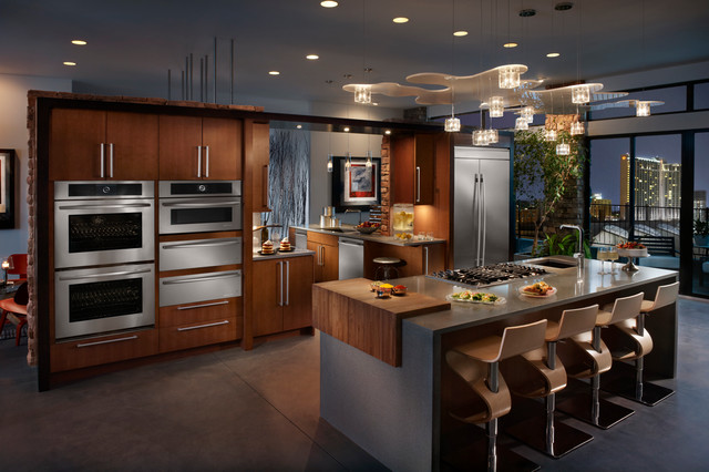 Two different Jenn-Air Euro-Style® kitchen looks: Which is your favorite? contemporary