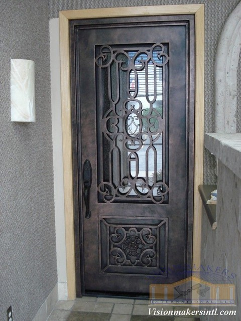 Wrought Iron Doors Phoenix By Visionmakers Custom