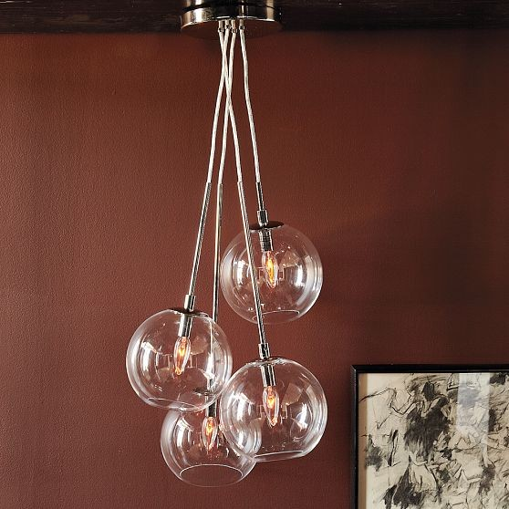 Cluster Glass Bubble Ceiling Light