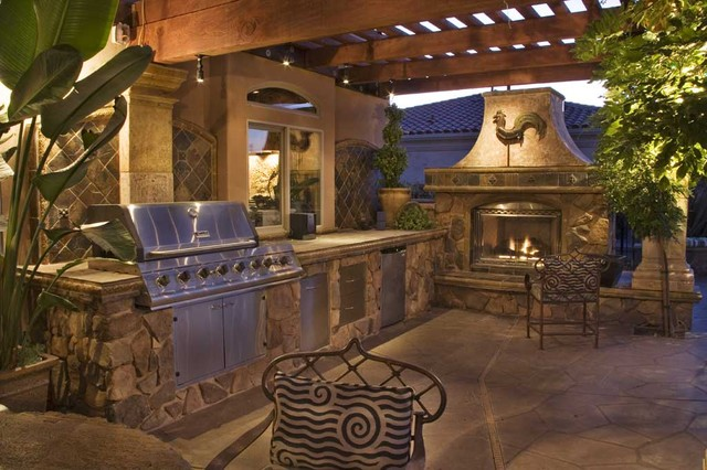 Luxurious Mediterranean Outdoor Living Mediterranean Sacramento By Luciole Design Inc