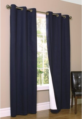 Thermalogic Weathermate Grommet Curtain Panel - One Pair traditional-curtains