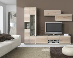 Fresno collection. Entertainment center contemporary-media-storage