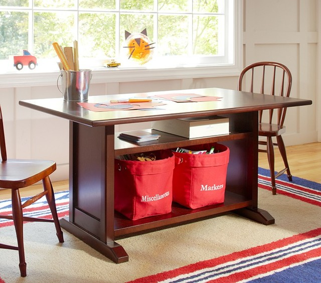 Hayden Storage Play Table Traditional Kids Tables And