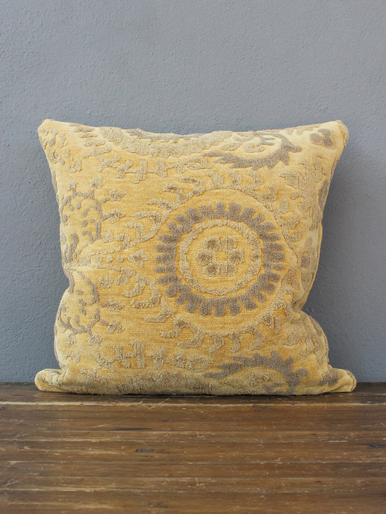 grimsley pillow – butter - view this item on our website for more information + purchasing availability: http://redinfred.com/shop/category/free-shipping/grimsley-pillow-butter/