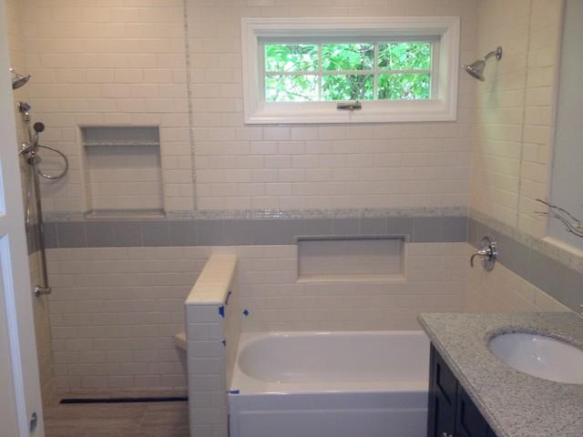 New Construction in Pasadena mediterranean-bathroom