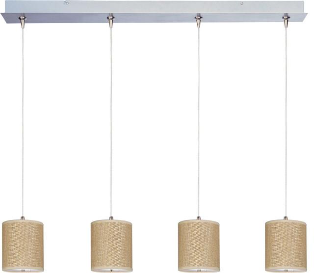 Elements 4-Light Linear Pendant modern-pendant-lighting