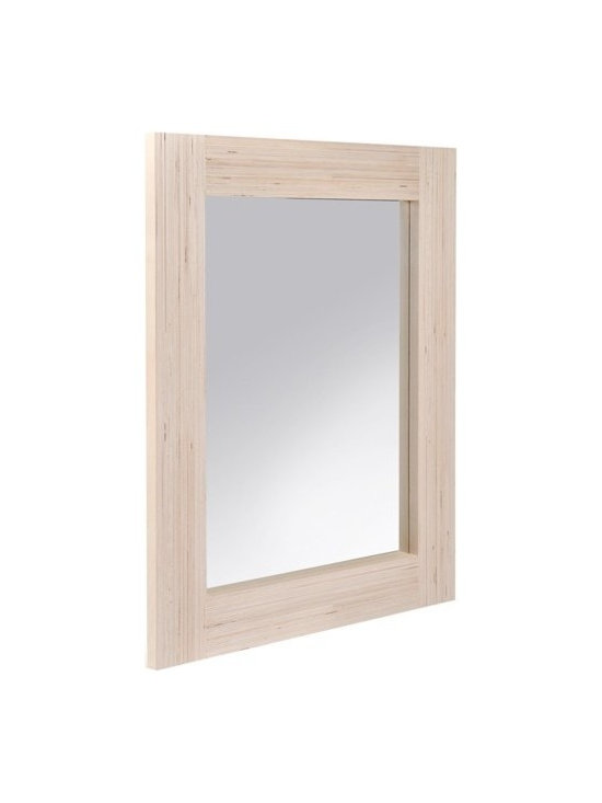 Large Plywood Mirror -