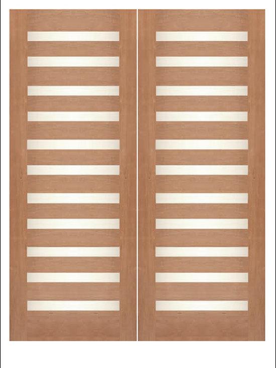 Contemporary Exterior Rubi Doors -