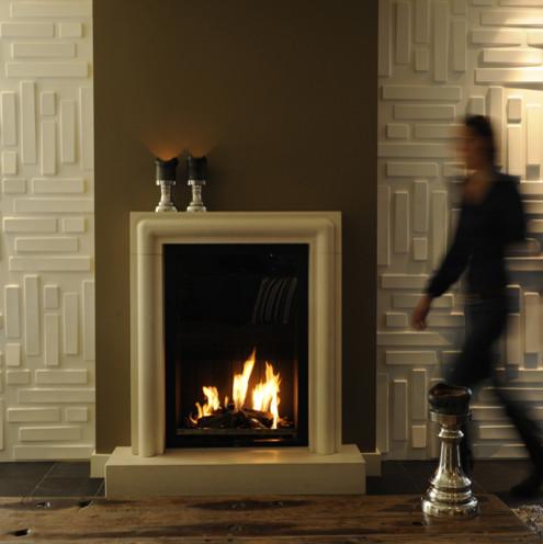 3d wall paper-bricks modern-wallpaper