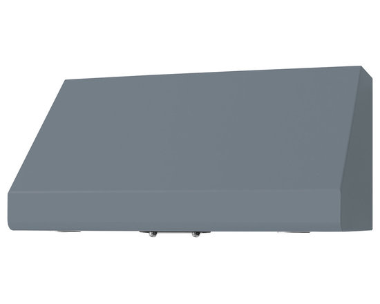 "36"" Prizer Incline Hood in Silver Grey (RAL 7003) - Silver Grey (RAL 7003)"