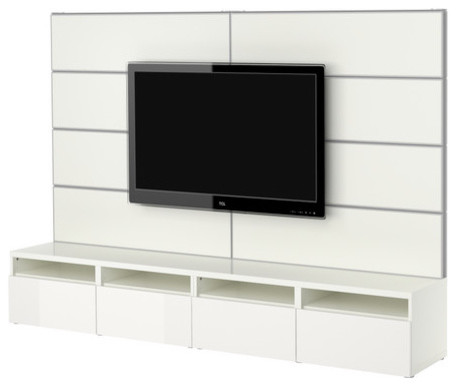 BESTÅ/FRAMSTÅ TV/storage combination - Scandinavian - Entertainment Centers And Tv Stands - by IKEA