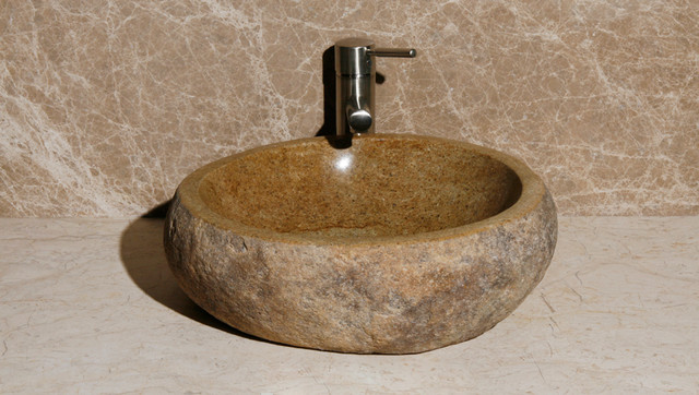 Rock Sinks - Rustic - Bathroom Sinks - phoenix - by RusticSinks