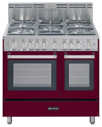 vefsgg365dbu 36 freestanding double oven gas range with 5 sealed