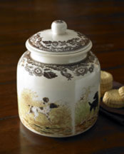 Dog Treat Cannister traditional-pet-bowls-and-feeding