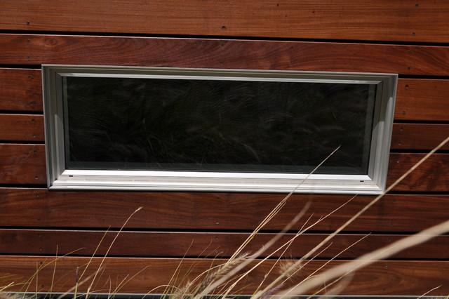 Ipe Rainscreen detail at window