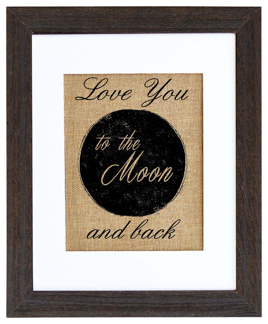 Love You To The Moon Art farmhouse-prints-and-posters