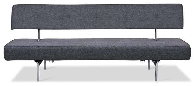 Bosco Mottled-Grey Sofa Bed modern-sofa-beds