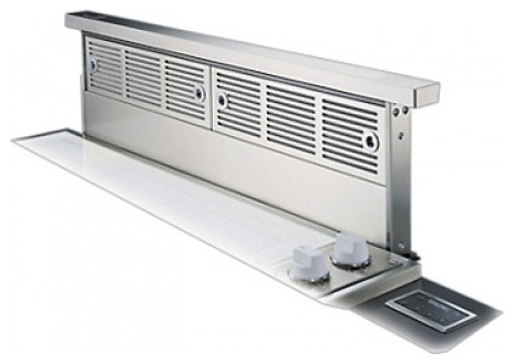 Viking 48 downdraft ventilation system with controls for Kitchen range with downdraft ventilation
