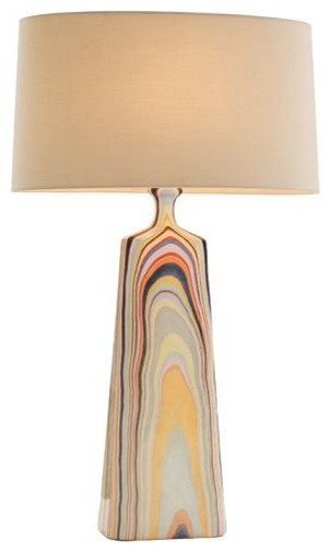Annabelle Multi Color Colorful Lamp Eclectic Table